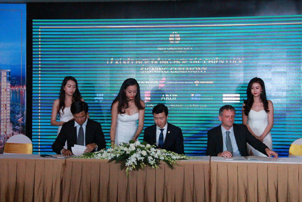 Sun Group công bố nhà thầu và đại lý phân phối dự án Sun Grand City